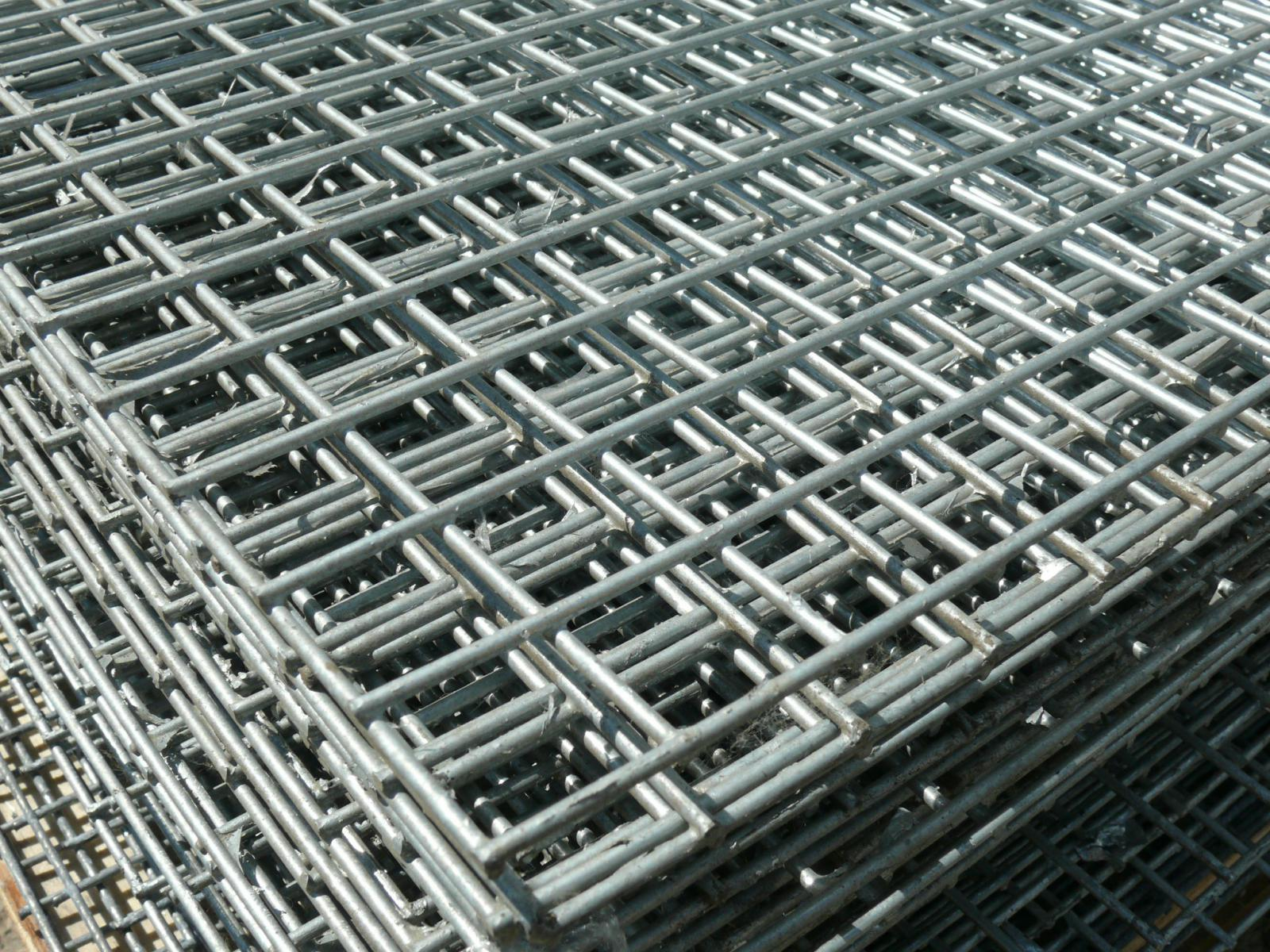 5x Welded Wire Mesh Panels 1 2x2 4m Galvanised 4x8ft Steel