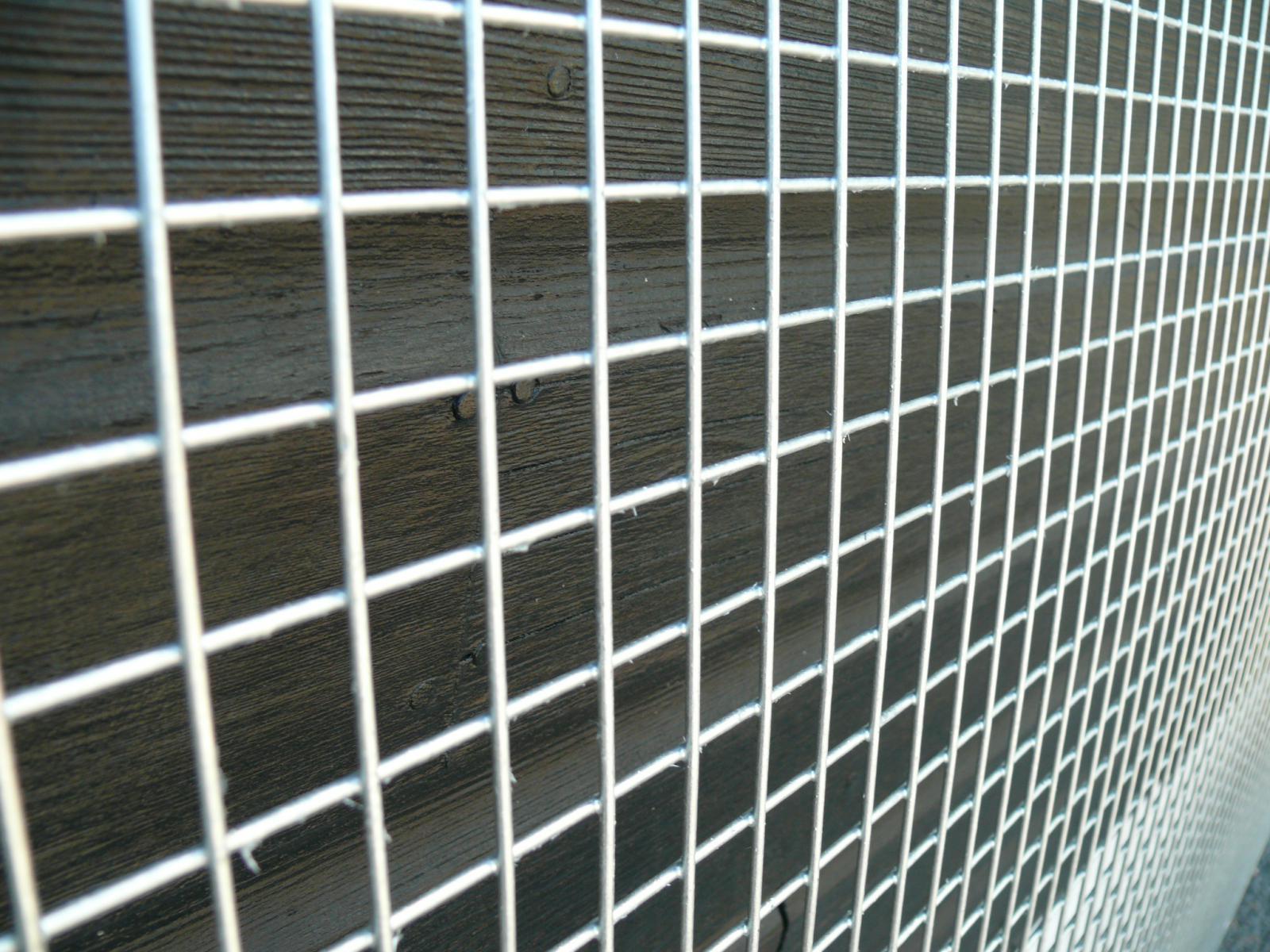 5x Welded Wire Mesh Panels 1 2x2 4m Galvanised 4x8ft Steel