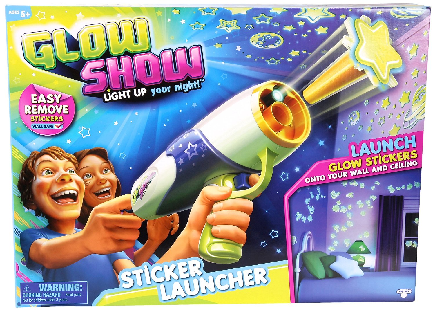 easy way to brighten up your bedroom. Glow Show Sticker Launcher