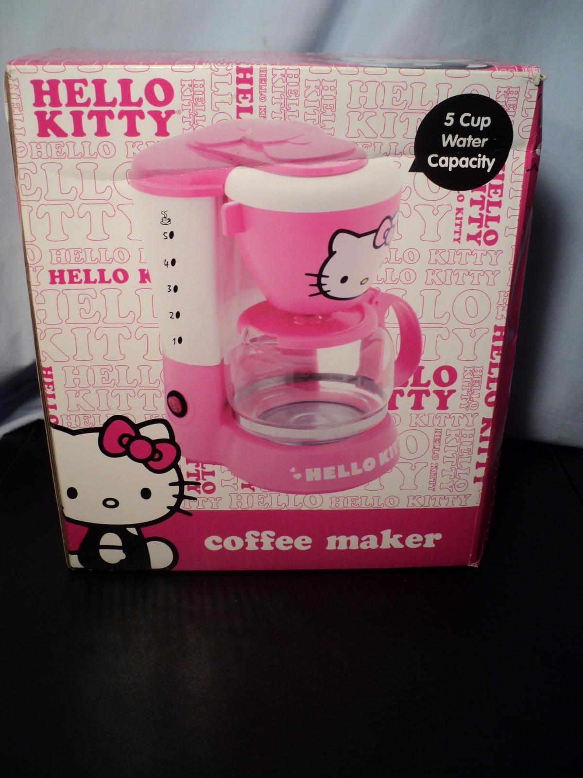 HELLO KITTY APP-36209 KITCHEN APPLIANCE ELECTRIC COFFEE MAKER MACHINE PINK NEW eBay