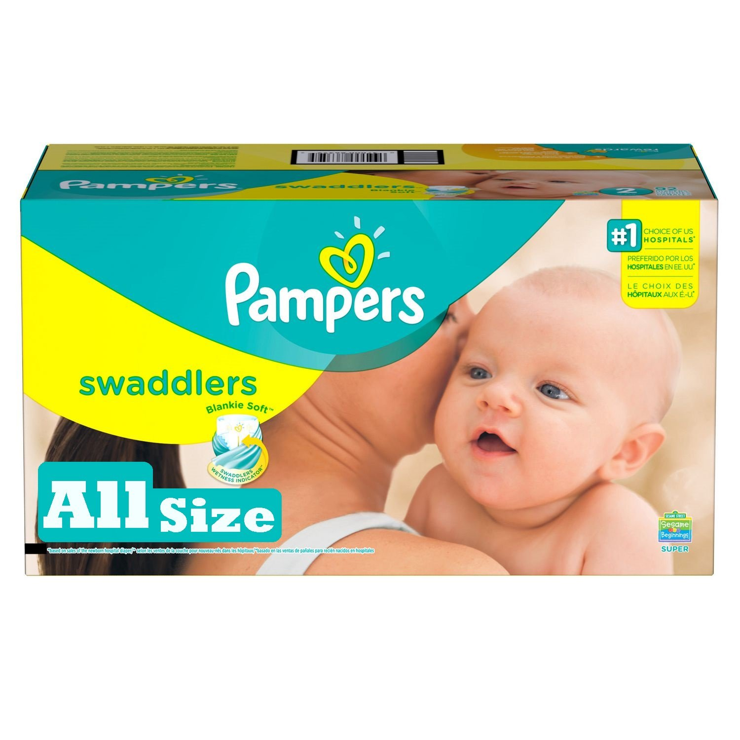 Buy Pampers Swaddlers Sensitive Disposable Diapers Newborn Size 1 ( lb), Count, SUPER ECONOMY on wheelpokemon7nk.cf FREE SHIPPING on qualified orders.