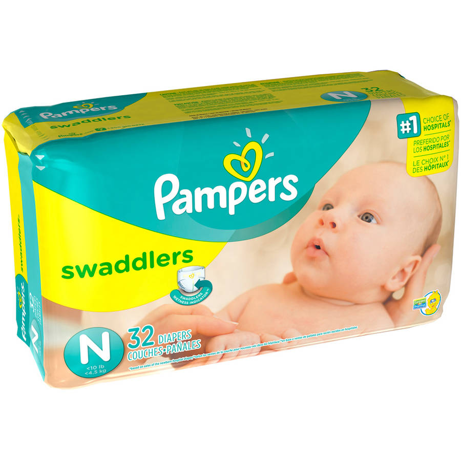 pampers swaddlers diapers jumbo pack all size preemie. Black Bedroom Furniture Sets. Home Design Ideas