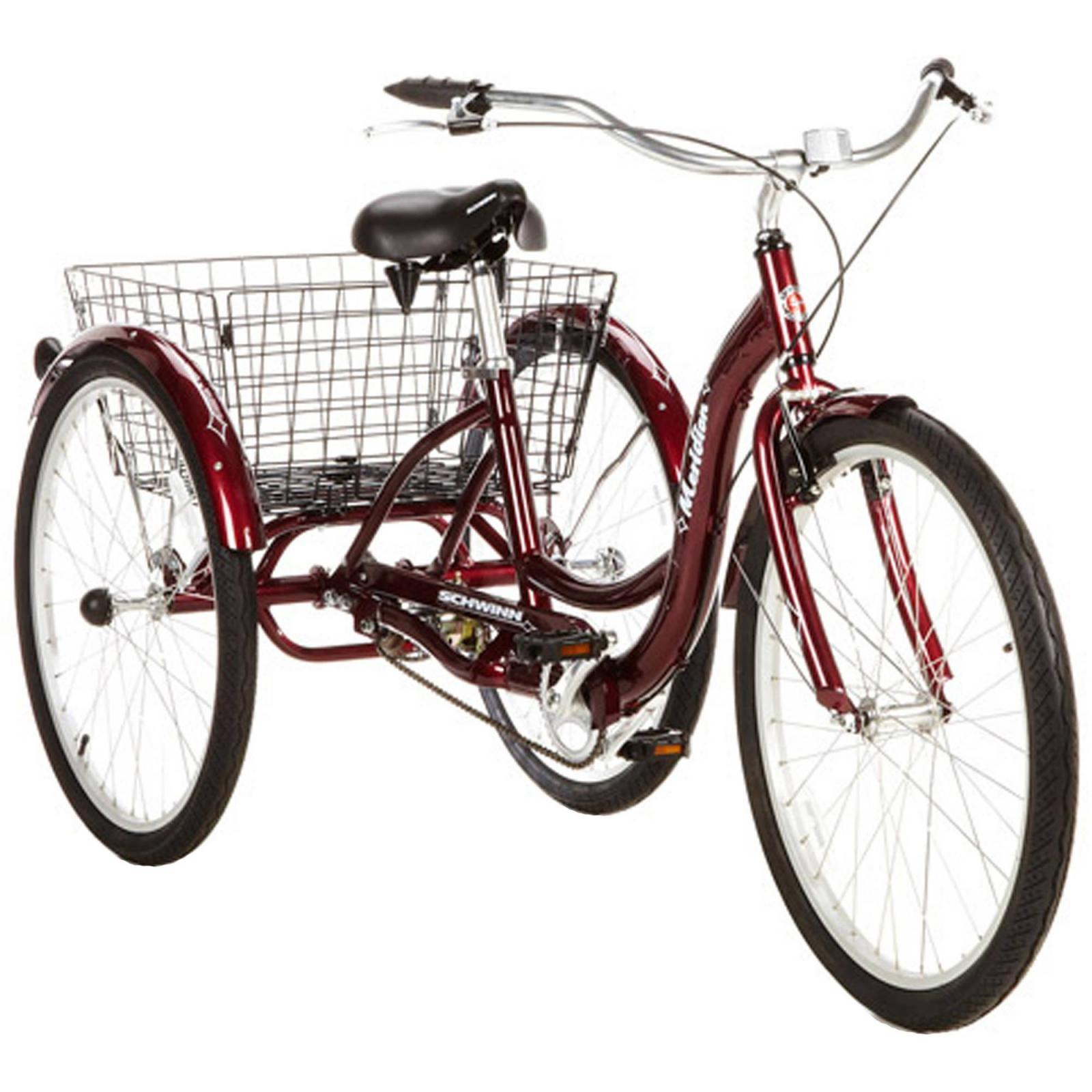 schwinn adult 26 tricycle bike bicycle ride trike cruiser. Black Bedroom Furniture Sets. Home Design Ideas