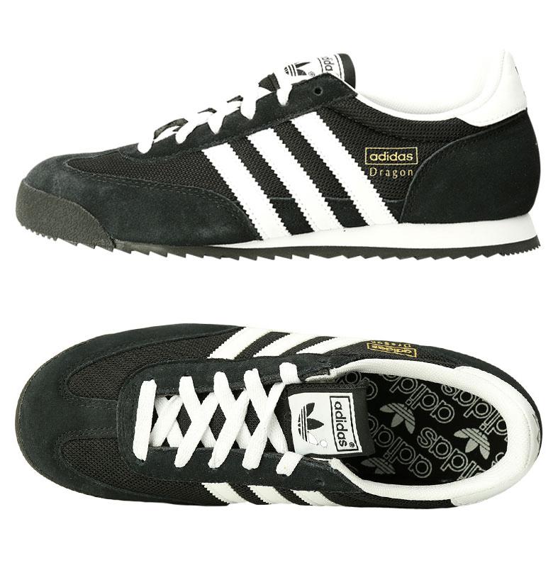 9300f60cbbe3 Adidas Original Dragon Running Shoes G16025 Sneakers Black