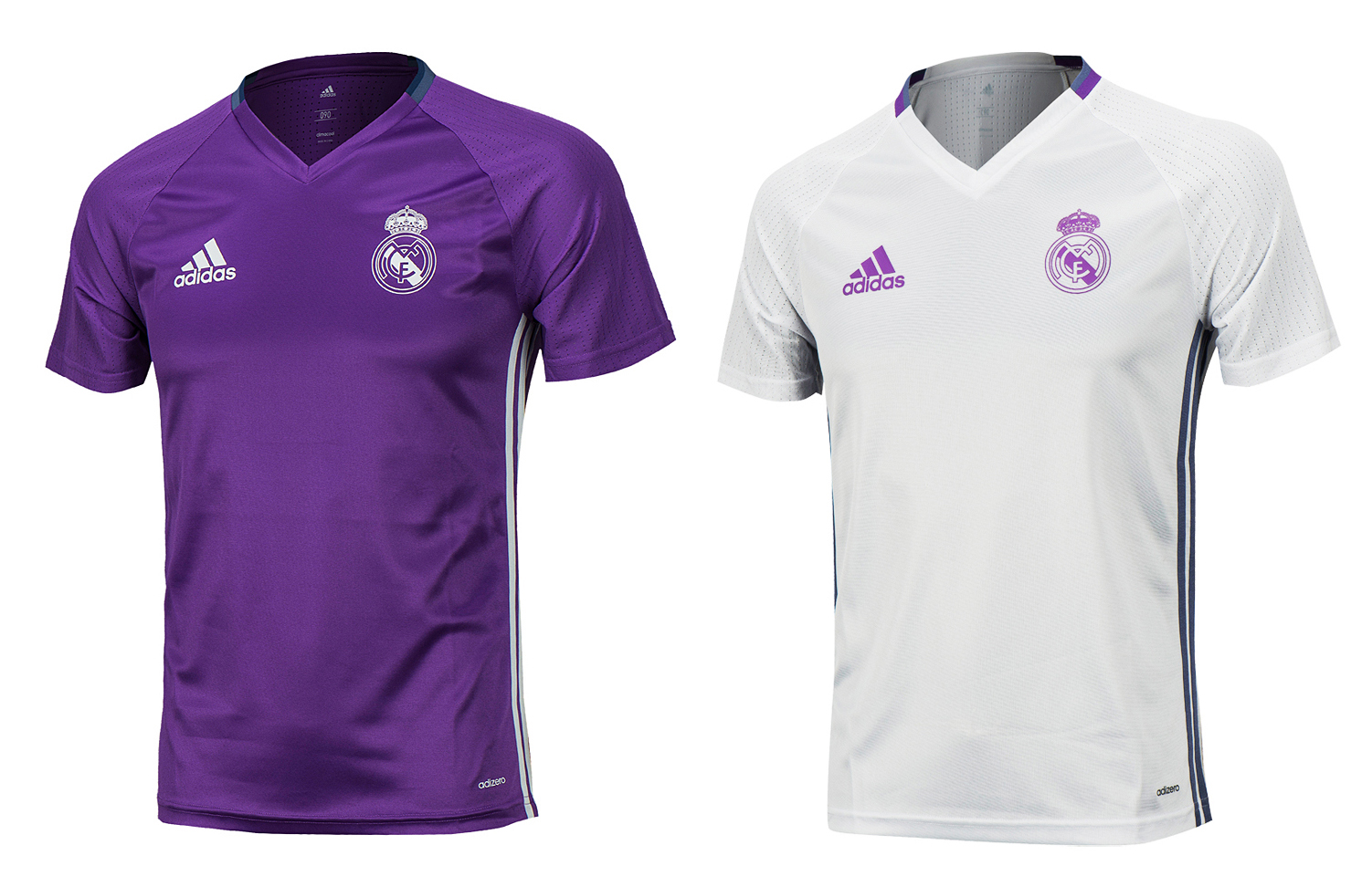 becaebb24ee Details about Adidas 16-17 Real Madrid Training Top S S Shirts AO311 Soccer  Football Jersey