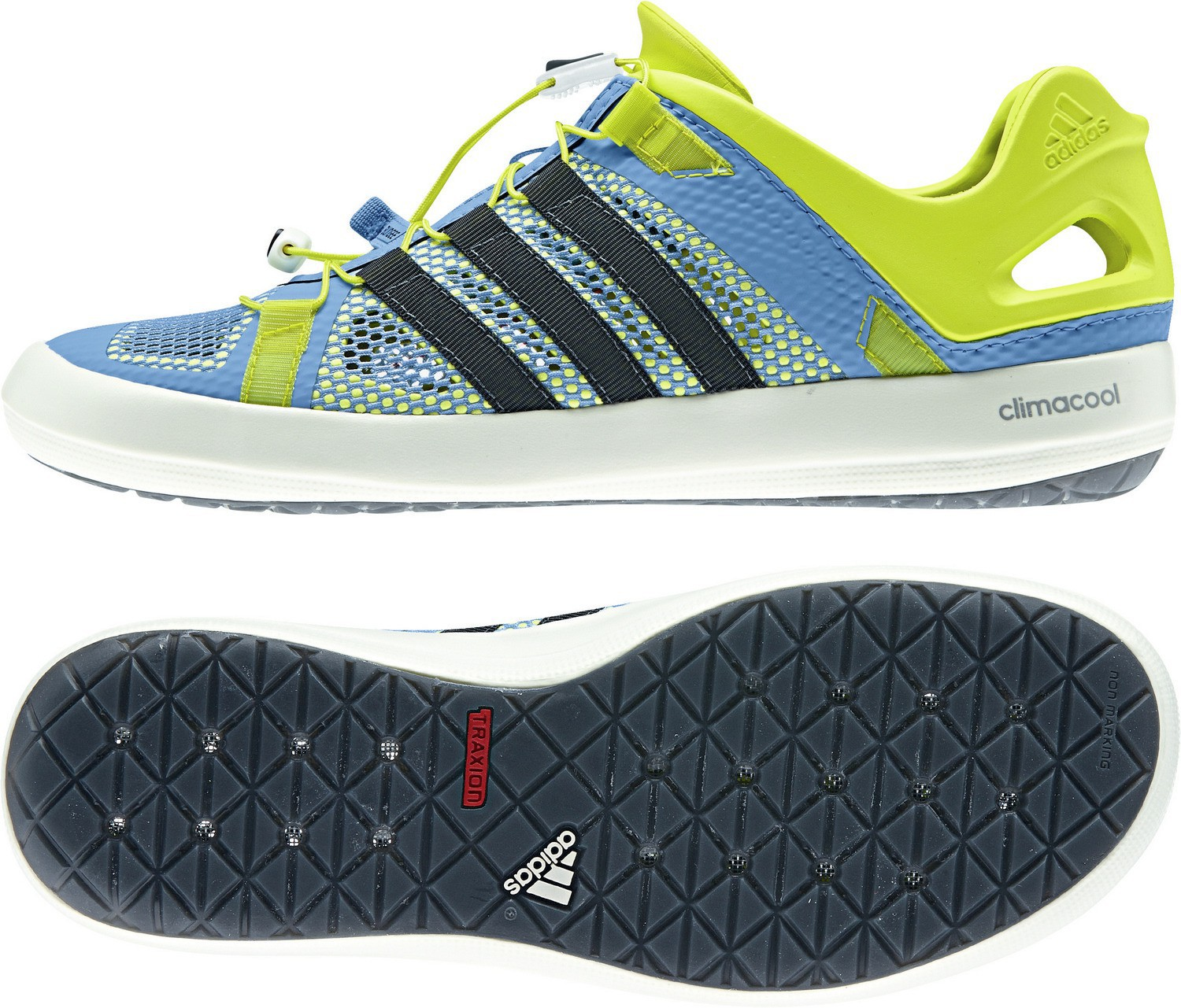 pas cher pour réduction c5347 2c3c8 Details about Adidas Climacool Boat Breeze B40632 Aqua Shoes Water Beach