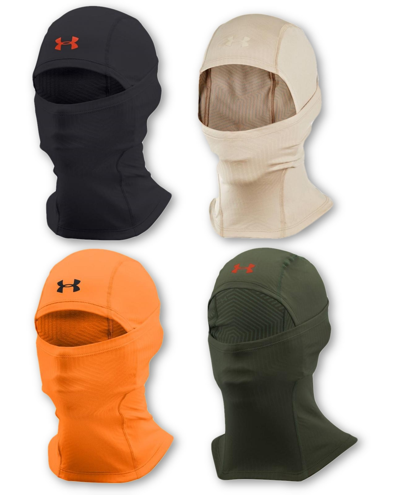 6bbd446e41c Details about Under Armour Men s UA ColdGear Infrared Tactical Hood  Balaclava Facemask - NWT