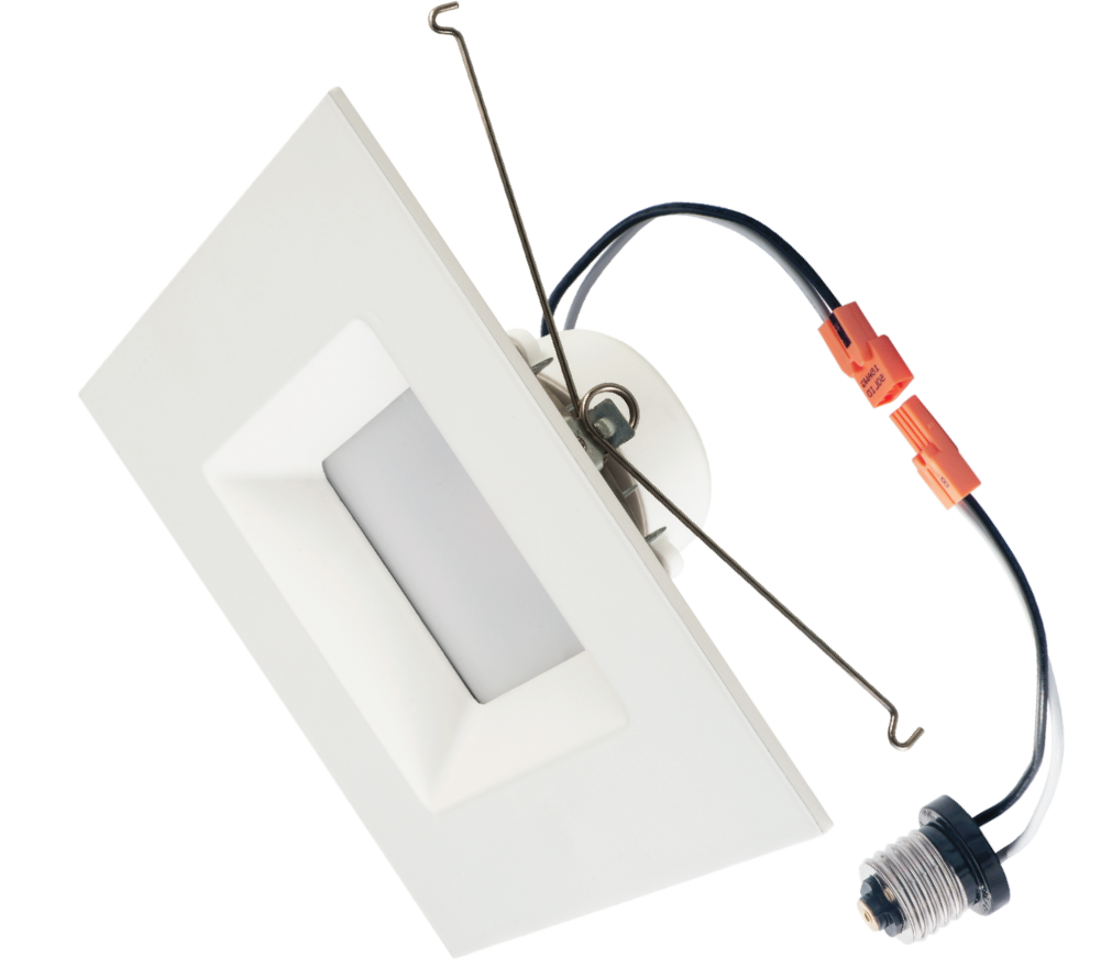 Downlight Square Trim 6 Inch 15W LED Recessed Dimmable