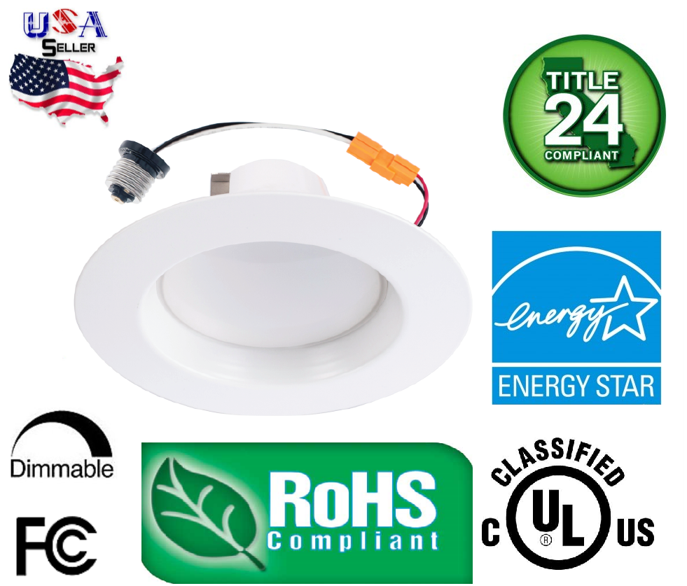 1 x downlight 15w led recessed trim dimmable 5 6 inch for 5 star energy