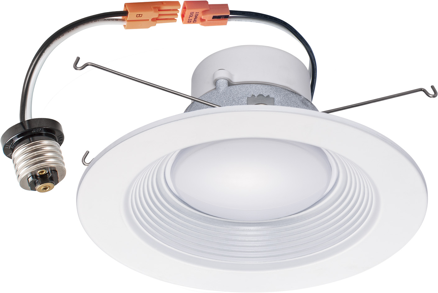 Dimmer For Recessed Lighting : Downlight trim pack inch w led recessed dimmable