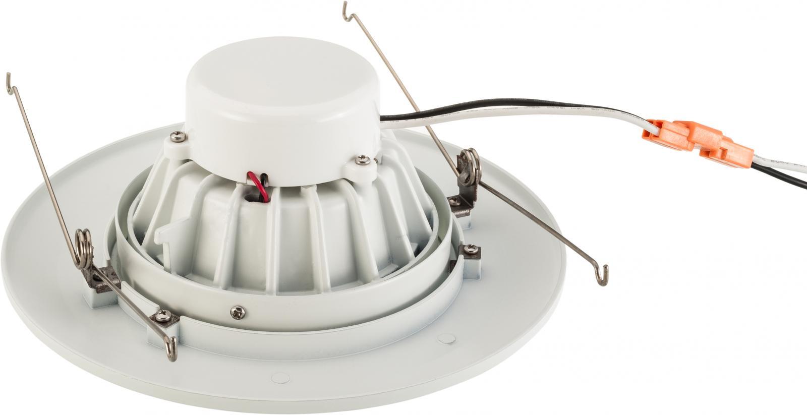 6 Inch Recessed LED Gimbal Downlight Eyeball Retrofit Kit