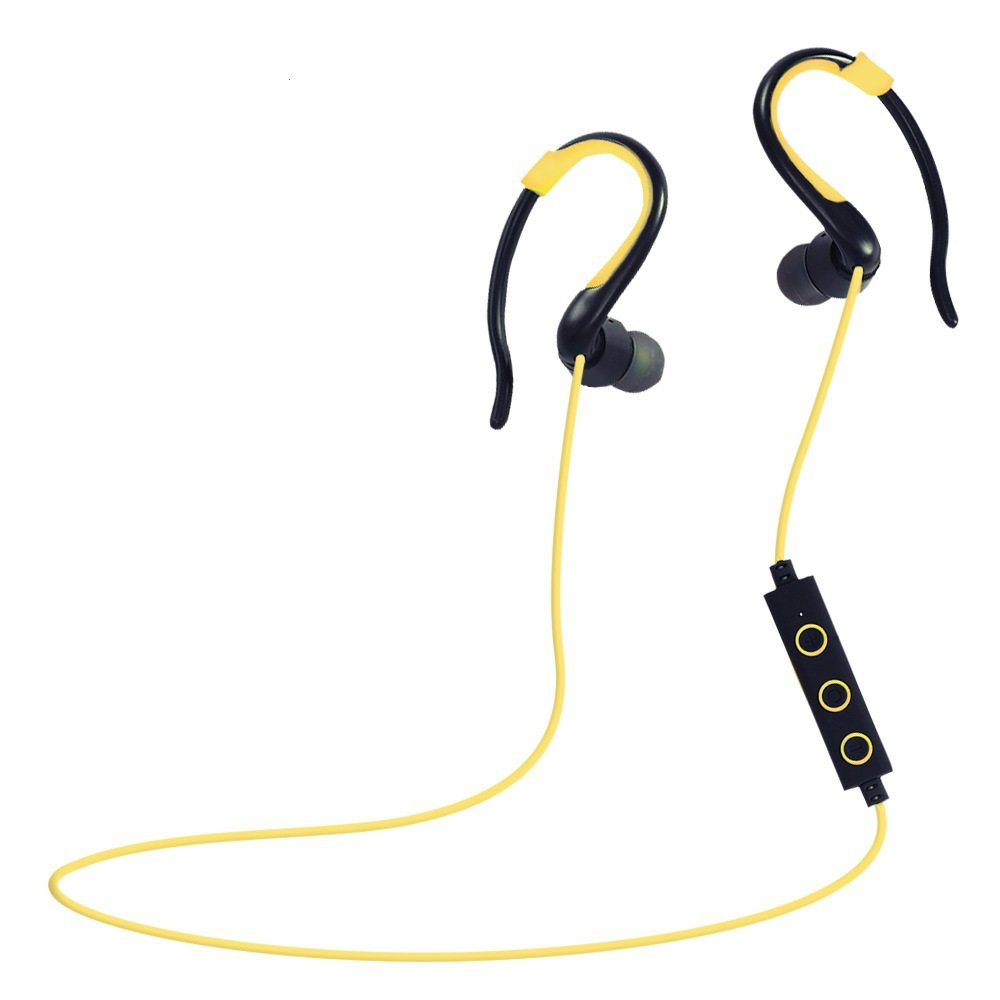 wireless sports stereo sweatproof bluetooth earphone headphone earbuds headse. Black Bedroom Furniture Sets. Home Design Ideas