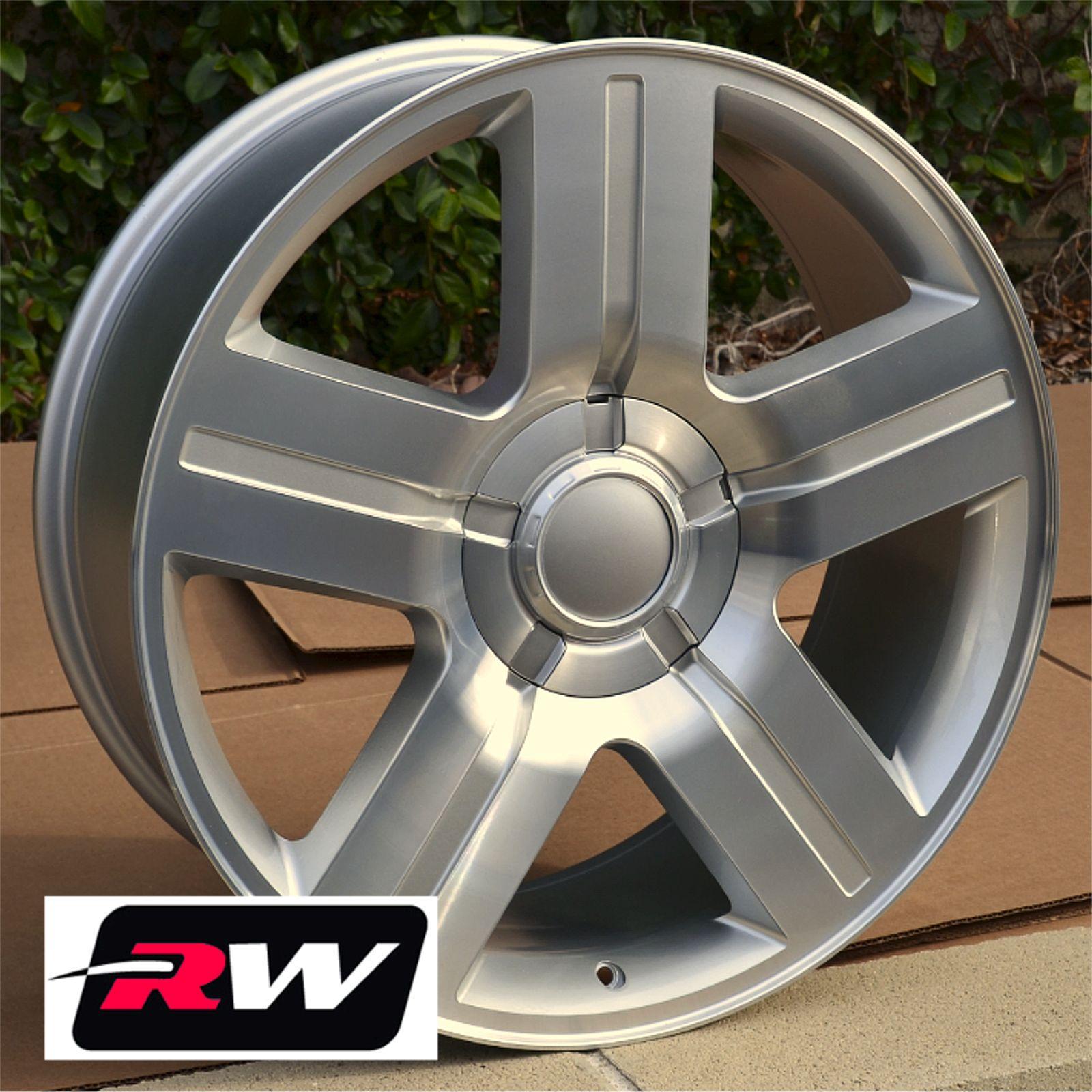 50 Inch Rims On Chevy : Chevrolet silverado wheels texas edition rims silver