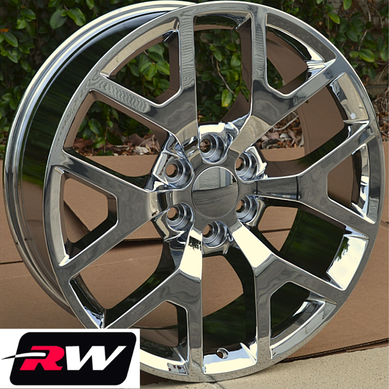 50 Inch Rims : Gmc sierra chrome wheels inch rims