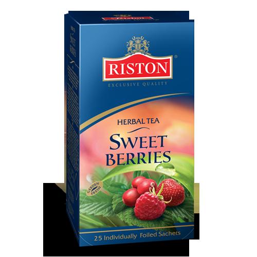 Riston Tea Garden Sweet Berries Herbal Tea 25 Tea Bags Ebay
