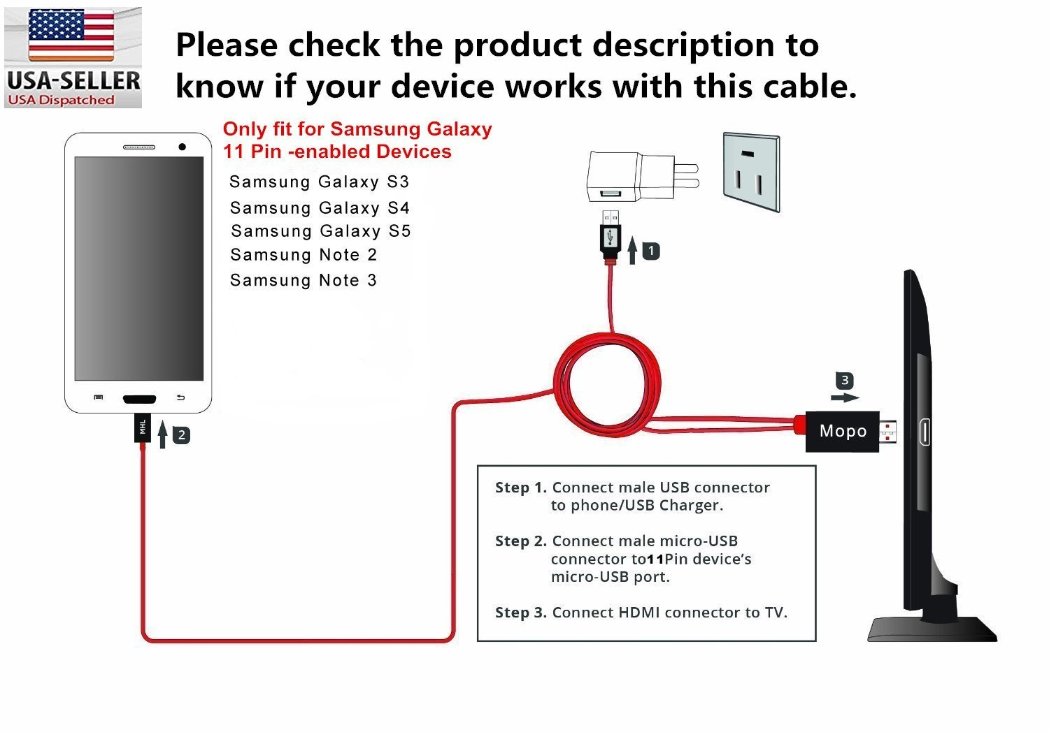 mhl micro usb to hdmi 1080p hd tv cable adapter samsung ... wiring diagram for vga to hdmi hd dta to hdmi connections diagrams