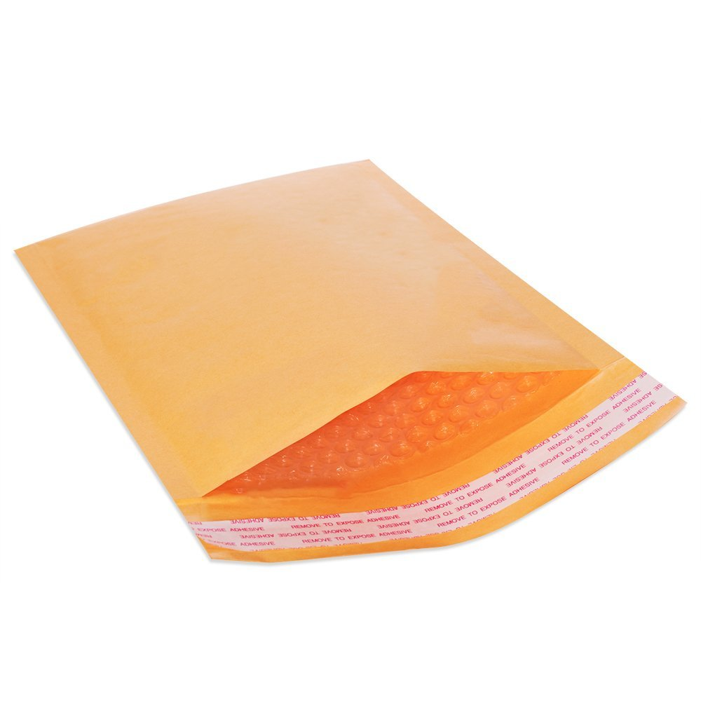 Inner 6.5x9 PolycyberUSA  250 pcs #0 Poly Bubble Envelopes Mailers 6.5 X 10