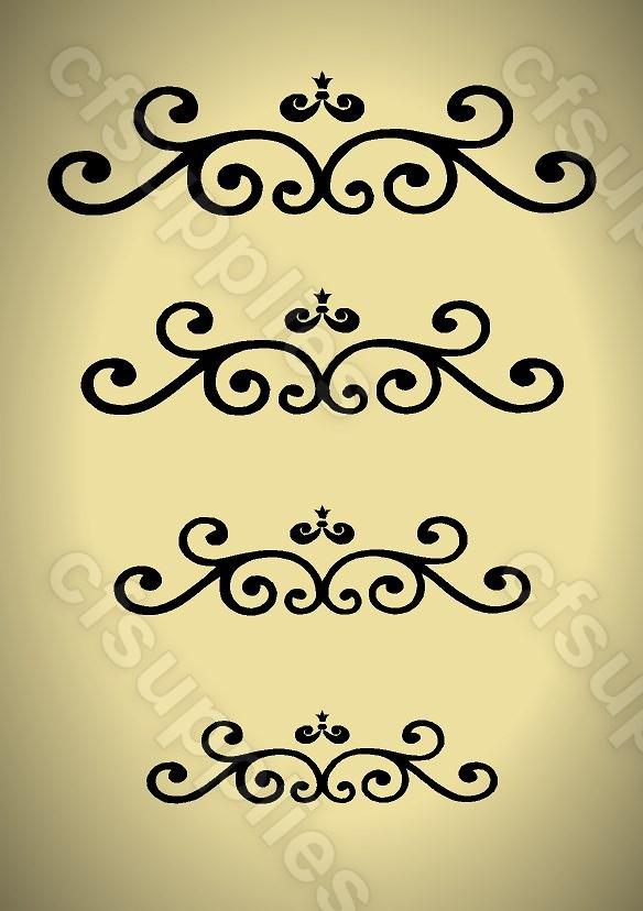 a3 pochoir shabby chic diy vintage fran ais 125 190 microns mylar set 1. Black Bedroom Furniture Sets. Home Design Ideas