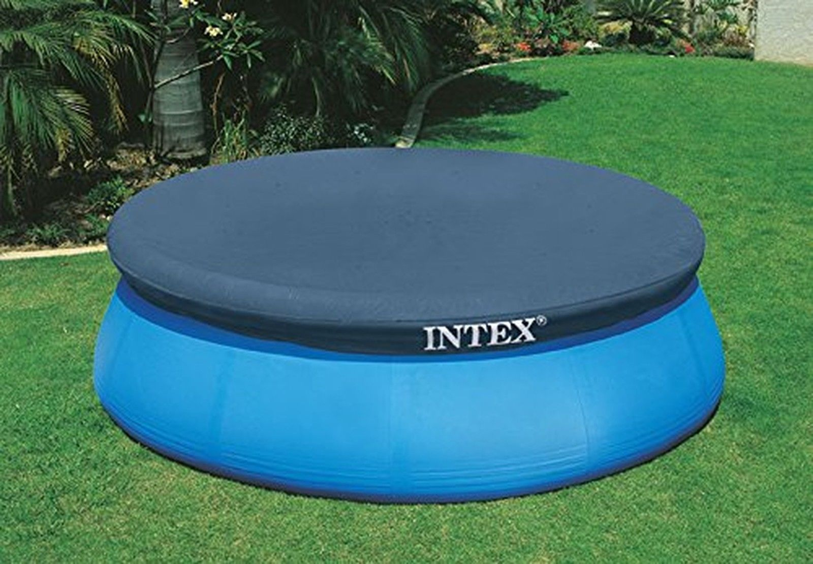 10 Ft Fast Easy Set Intex Round Swimming Pool Cover Above Ground Safety Protect Ebay