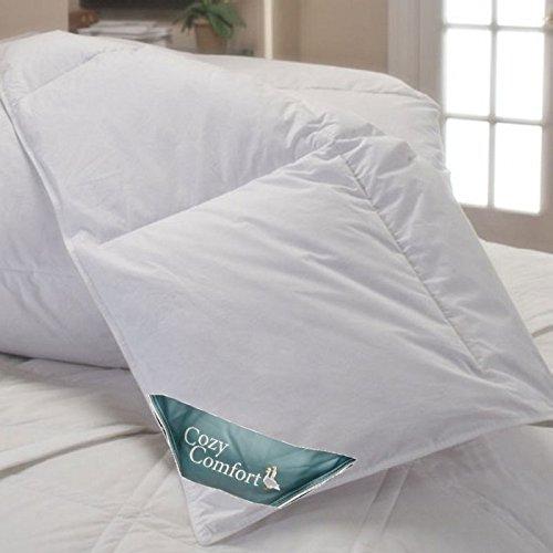 Super King Oversized White Down Alternative Comforter 120