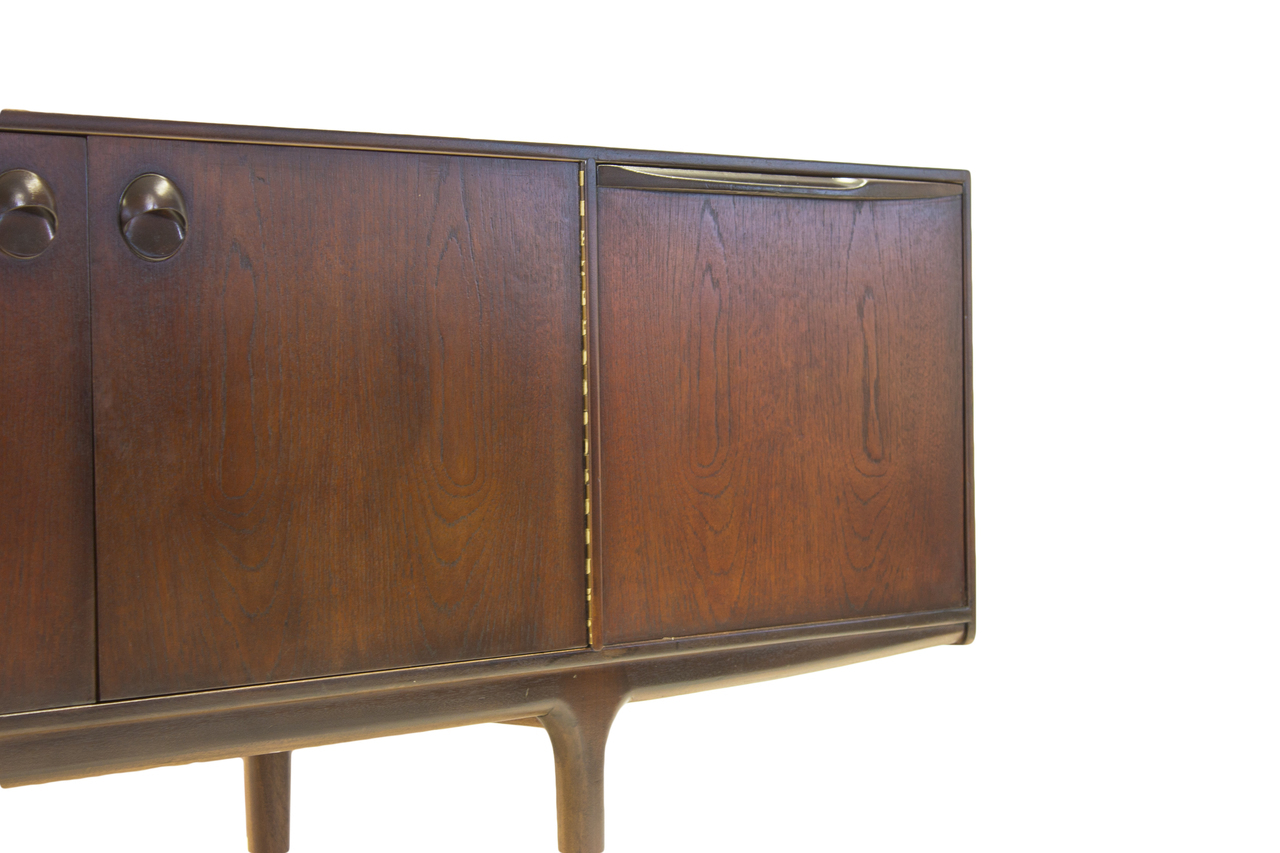 mid century modern mcintosh credenza sideboard media. Black Bedroom Furniture Sets. Home Design Ideas