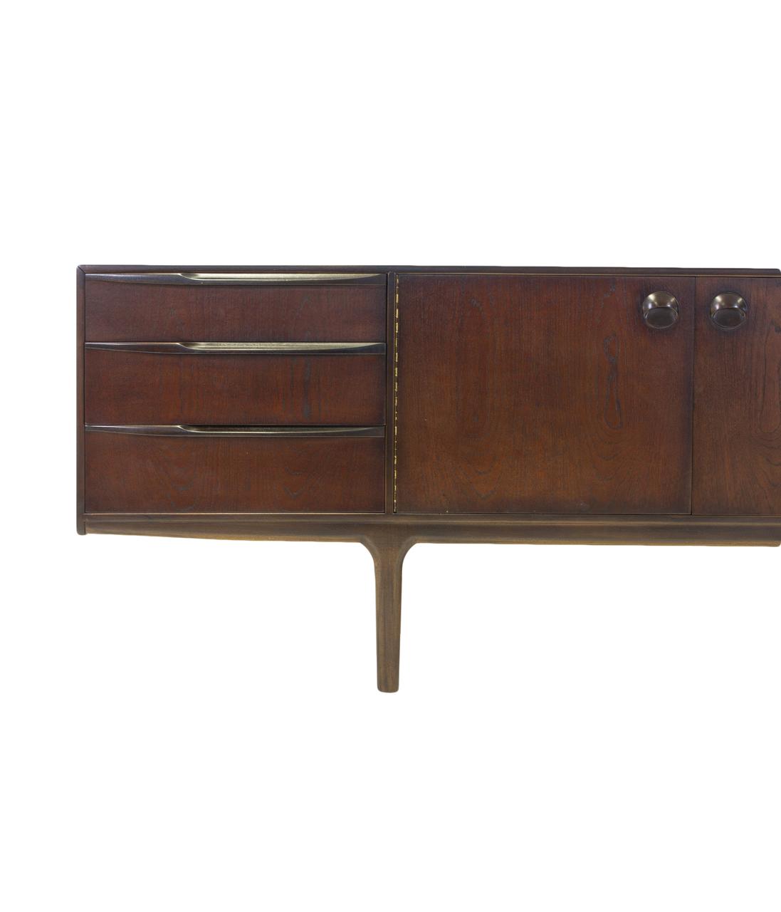 mid century modern mcintosh credenza sideboard media console tv stand dresser ebay. Black Bedroom Furniture Sets. Home Design Ideas
