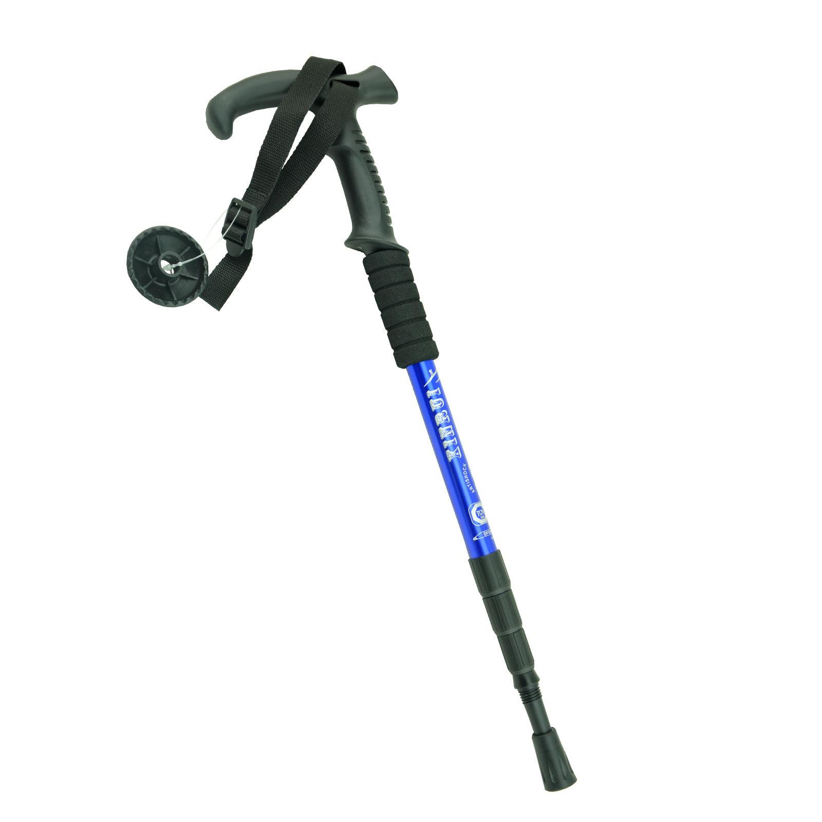 Telescopic Trekking Walking Hiking Sticks Poles Adjustable