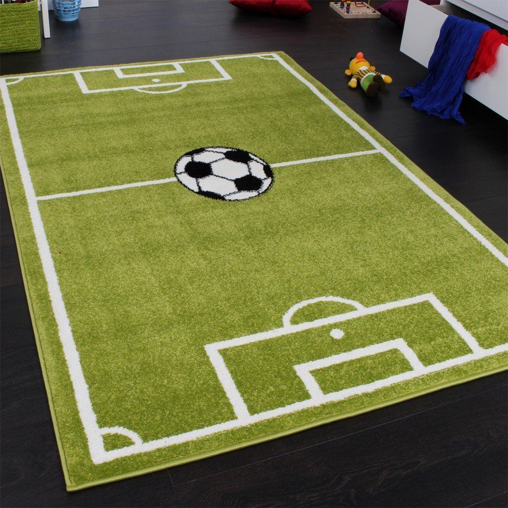 Kids Rugs Carpet Football Pitch Small Large Boys Soccer