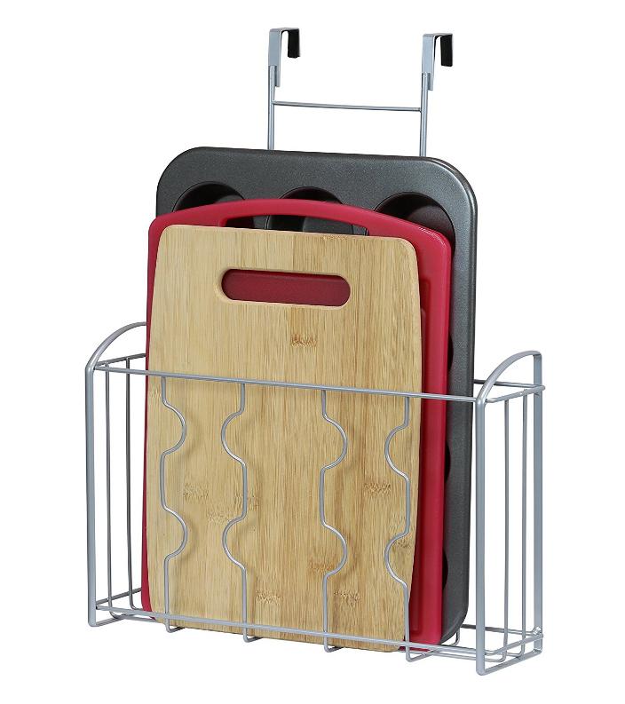 over the door pantry organizer rack storage kitchen cabinet holder sheet board. Black Bedroom Furniture Sets. Home Design Ideas