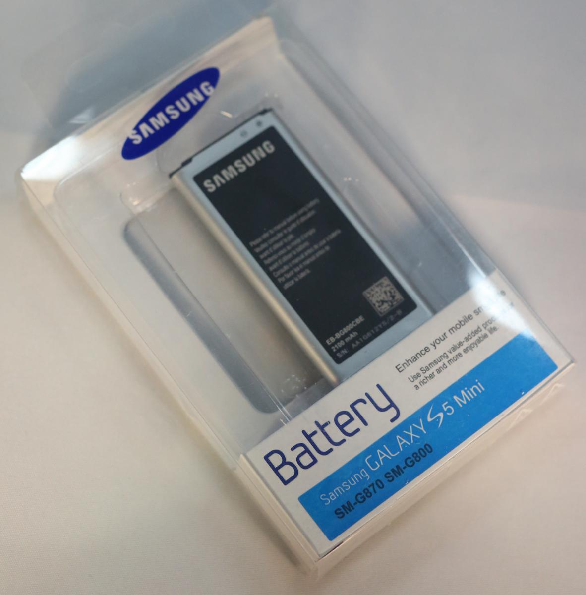 New Genuine Battery for Samsung Galaxy S5 Mini EB BG800CBE ...
