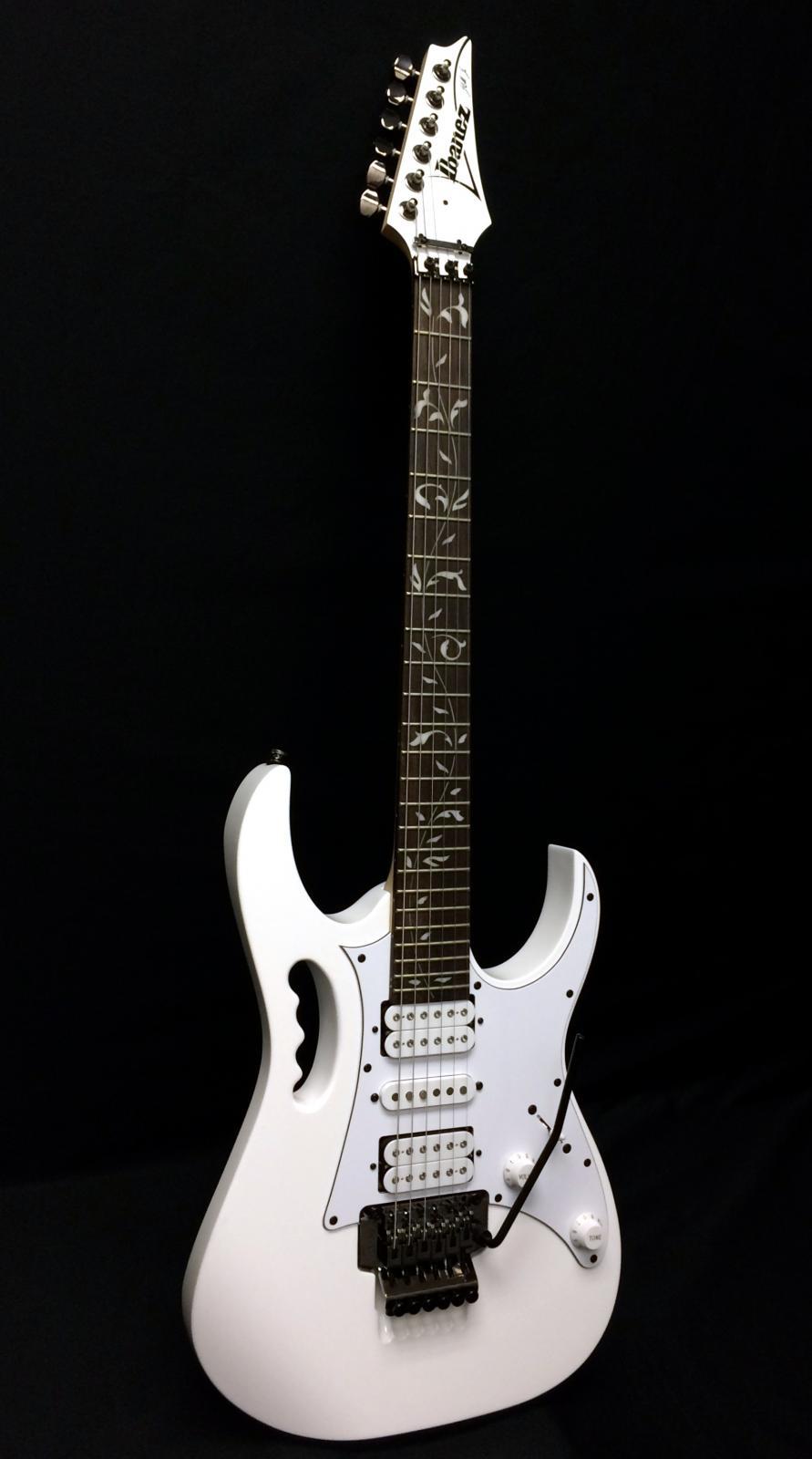 ibanez jemjr jem steve vai signature electric guitar white. Black Bedroom Furniture Sets. Home Design Ideas