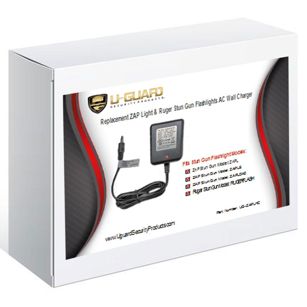 Zap Light Extreme Power Cord Tactical Stun Flashlight Ac