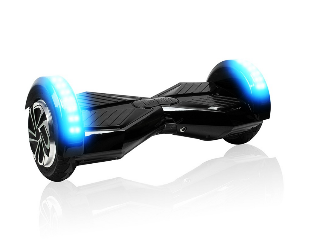 8 bluetooth smart electric self balancing scooter hover. Black Bedroom Furniture Sets. Home Design Ideas