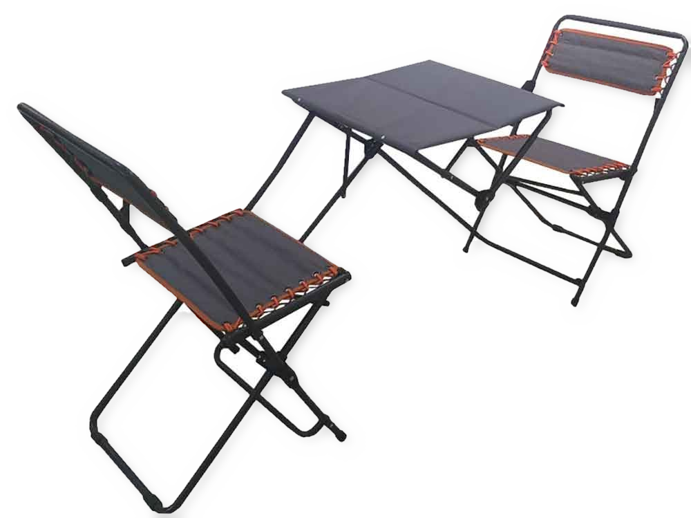 Patio Folding Chairs: Portable Bistro Set Folding Picnic Table And Chairs Patio