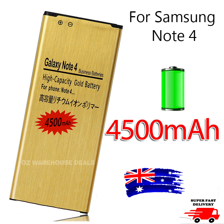 g4500mah high capacity battery replacement for samsung galaxy note 4 n9100 n910g ebay. Black Bedroom Furniture Sets. Home Design Ideas
