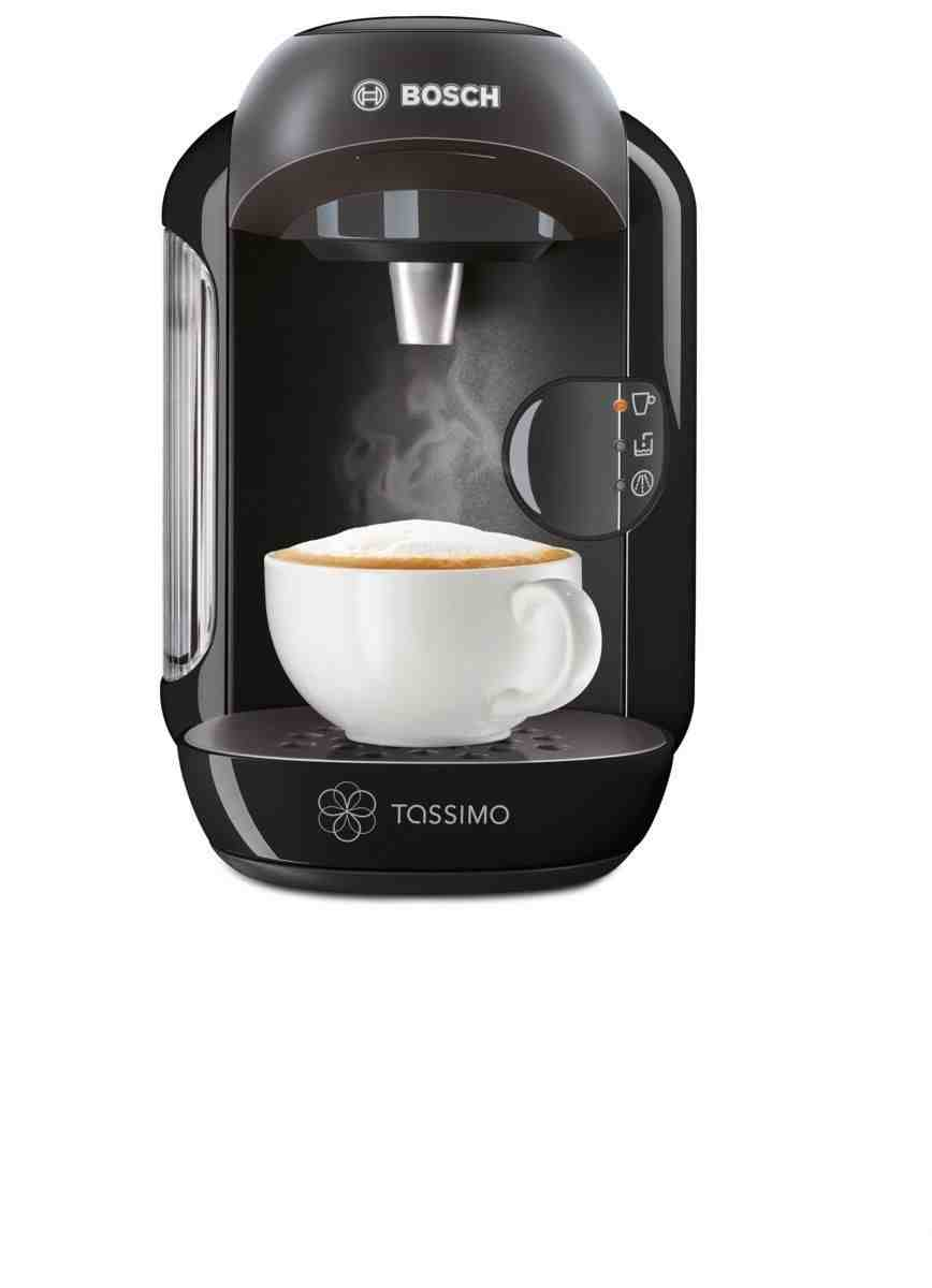 Bosch Tassimo Coffee Maker Lights : Bosch Tassimo Vivy TAS1202GB T12 Black Multi Drinks Coffee Machine eBay