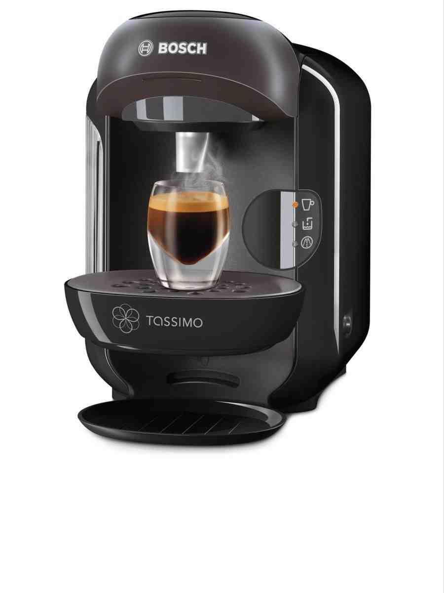Bosch Coffee Maker Tassimo Manual Red Light : Bosch Tassimo TAS1252GB Vivy Multi Beverage Hot Chocolate Drinks Coffee Machine