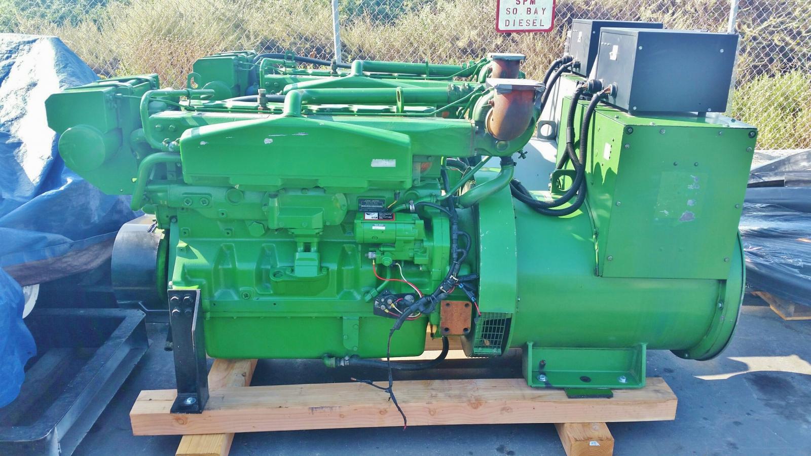 John Deere 60 Generator : John deere afm kw diesel generator ebay