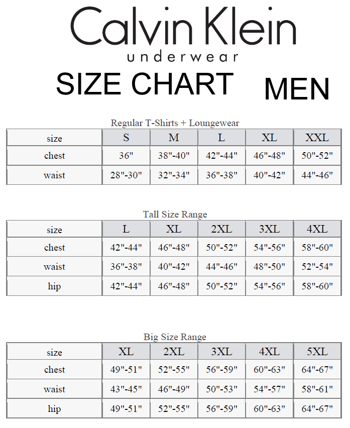 Boxers size chart actual coupons