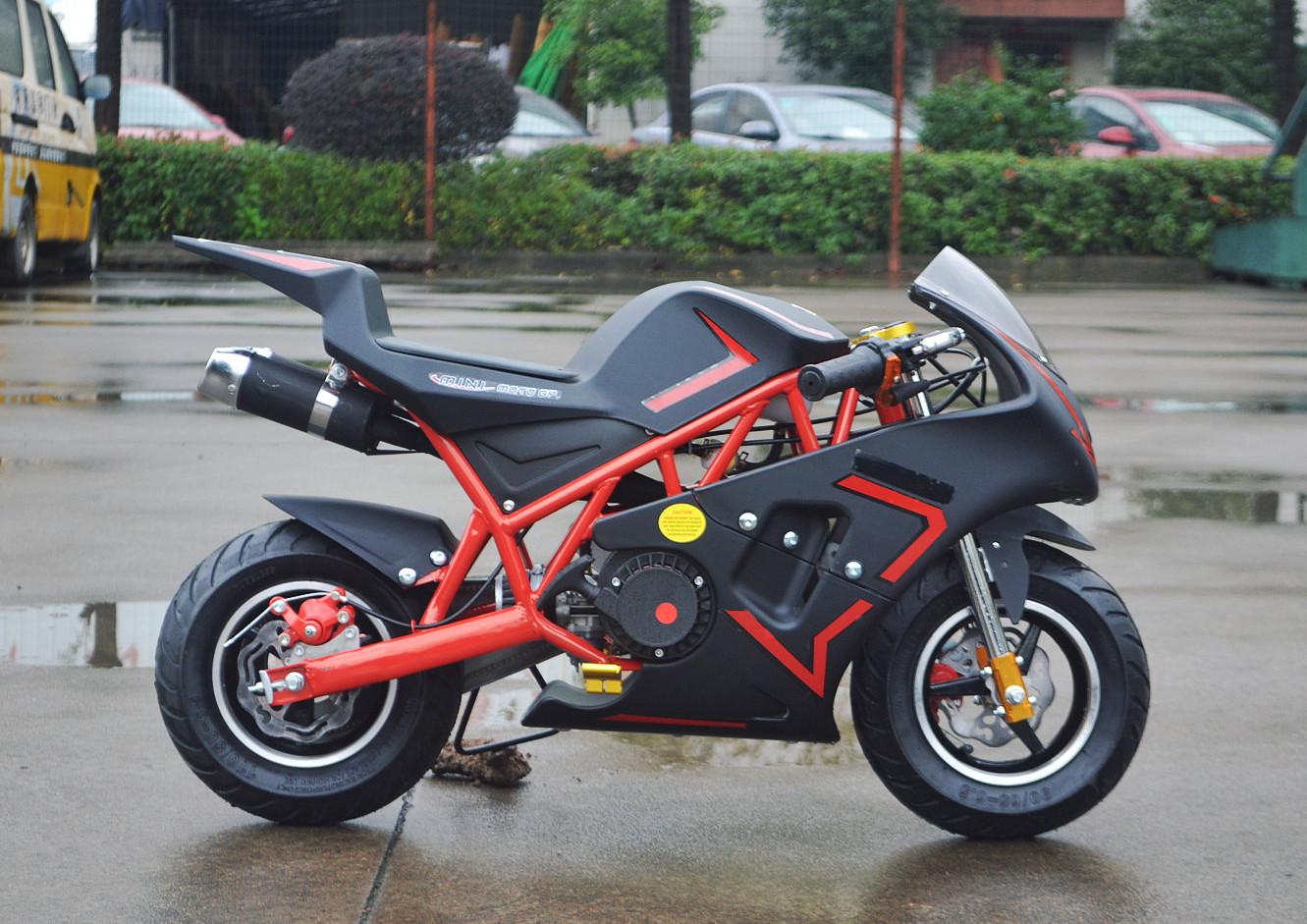 venom 49cc pocket bike mini moto gp m1 premium bike red ebay. Black Bedroom Furniture Sets. Home Design Ideas