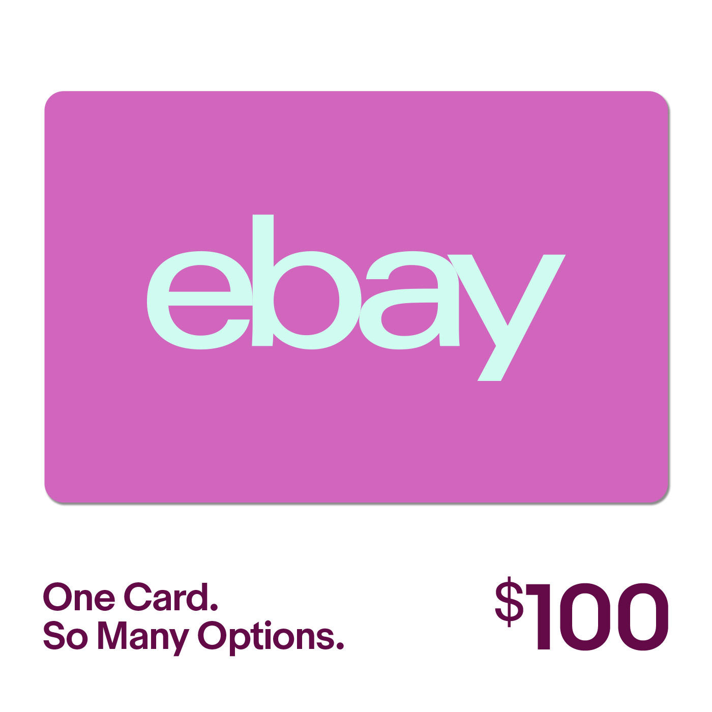 100 ebay gift card one card so many options fast email delivery ebay. Black Bedroom Furniture Sets. Home Design Ideas
