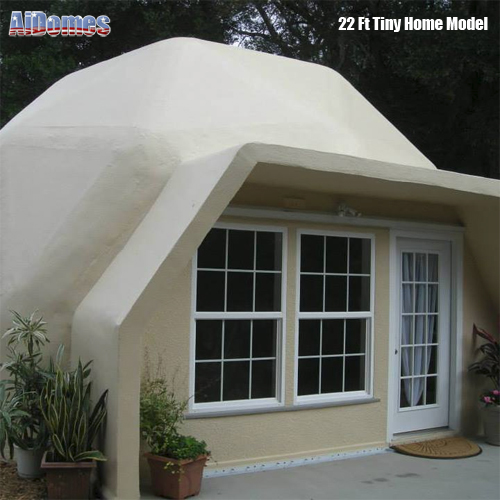 Dome Home Building Kits: Geodesic Tiny Dome Home