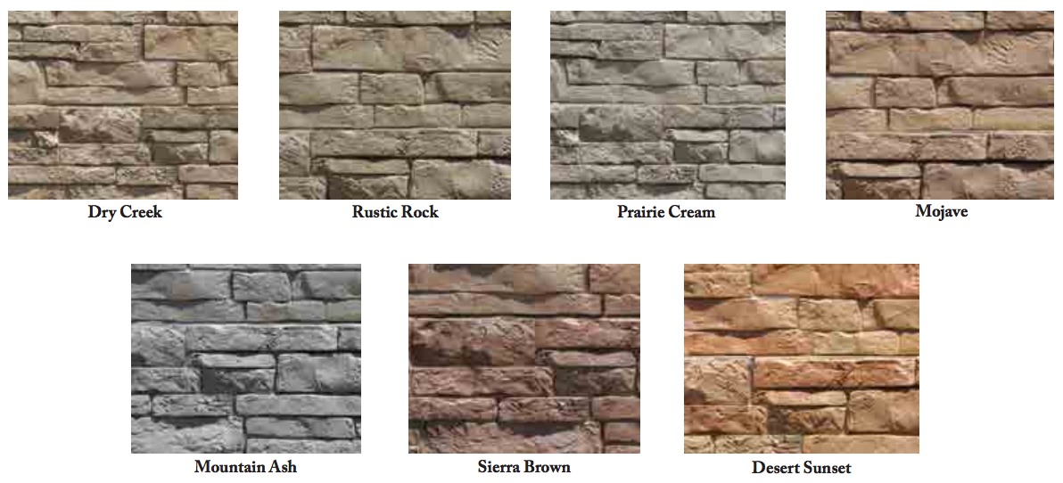 Exteria Stacked Stone Collection Outside Corner Ebay