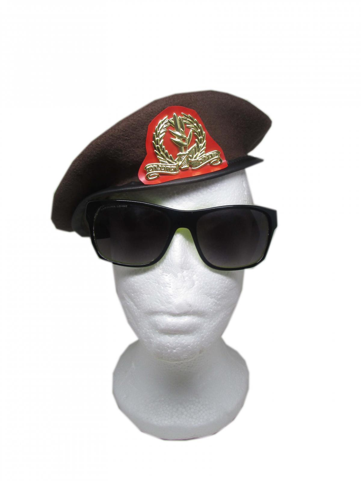 8f6e478be3254 Details about Beret Hat Cap Army Brown Military A Special idf Israeli  Golani Caps Hats Combat