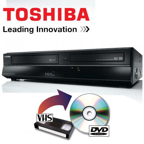 toshiba dvr80kf videoregistratore combo dvd conversione vhs usb scart hdmi ebay. Black Bedroom Furniture Sets. Home Design Ideas