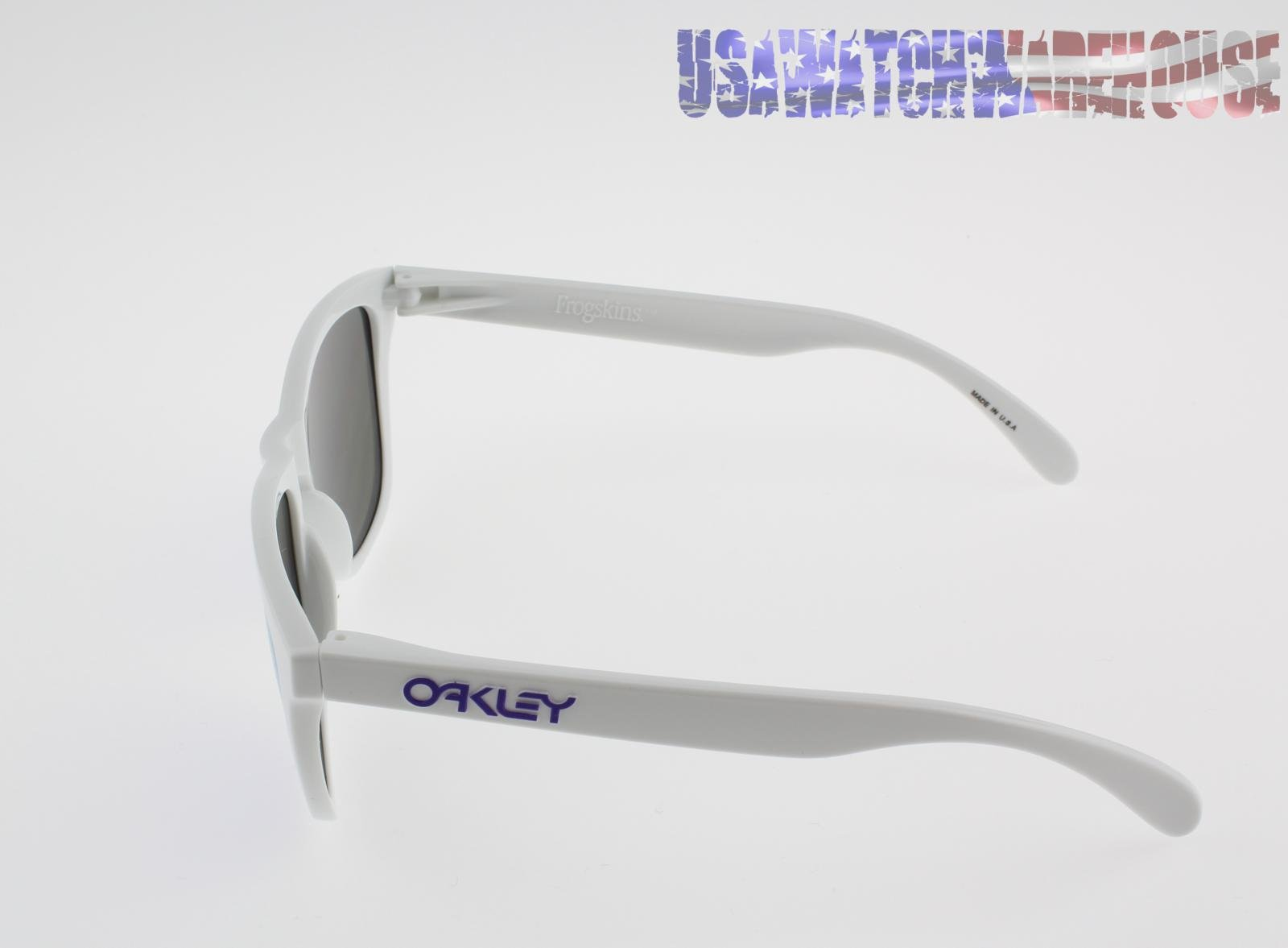 oakley frogskins violet lens