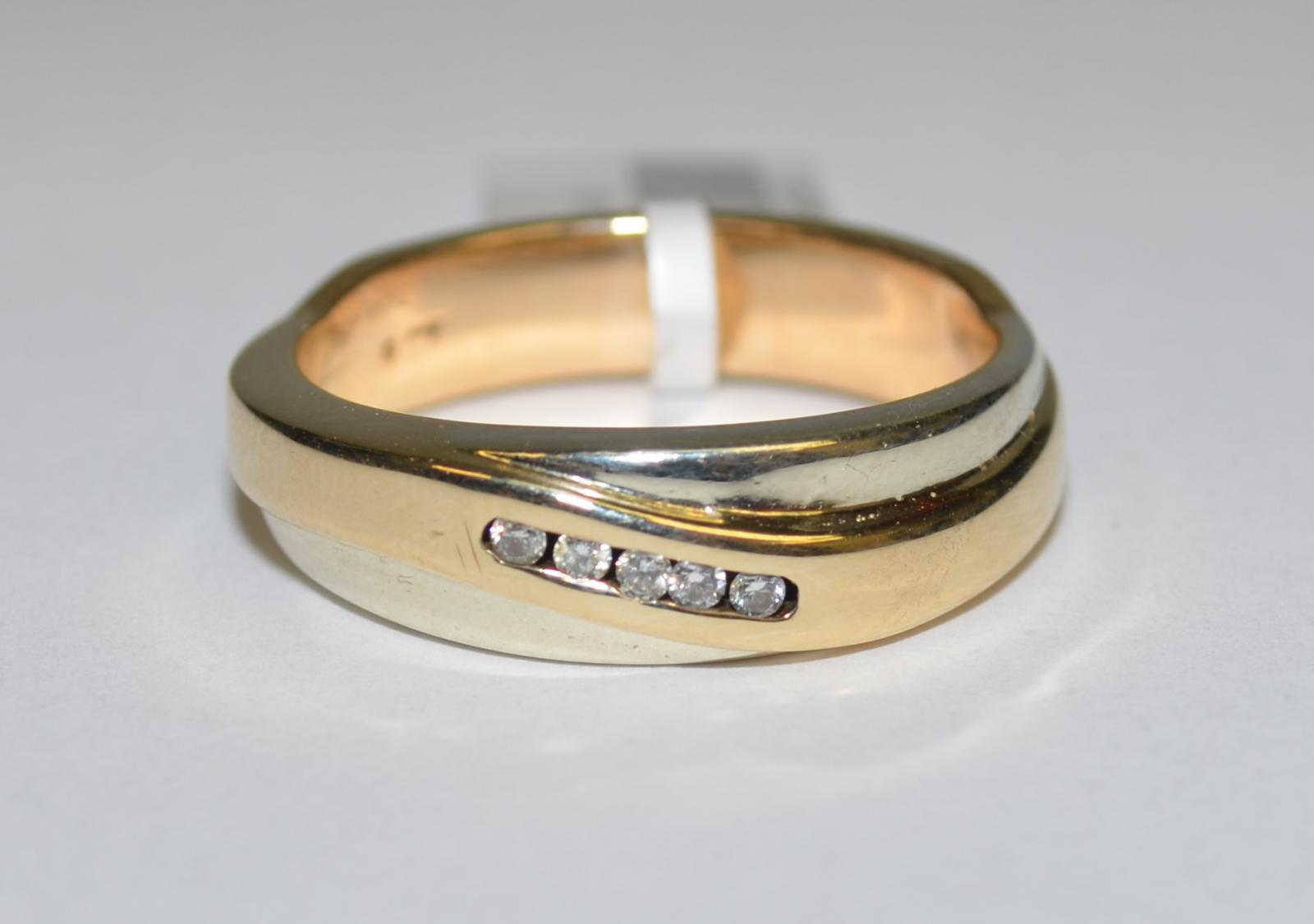 clearance 9k yellow gold mens engagement wedding