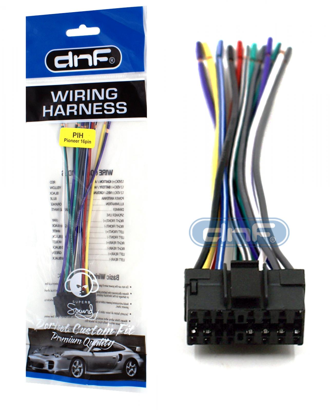 Din Connector Wiring Diagram Furthermore Pioneer Radio Further Pioneer