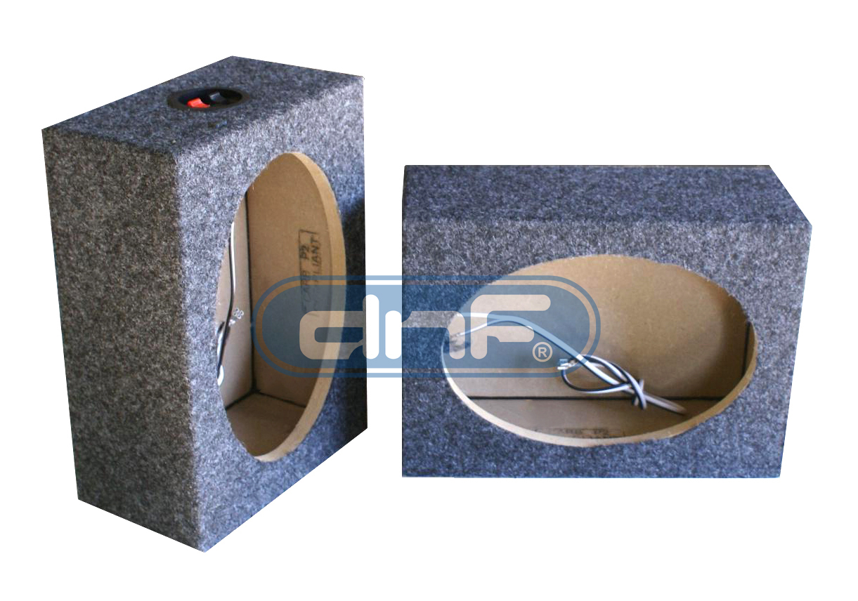 1 Pair 12 Quot Mdf Truck Angle Seal Speaker Box Carpet