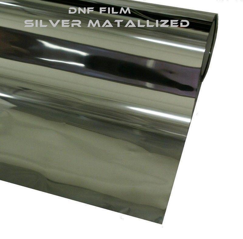 2 ply silver metallic mirror window tint 5 60 x 100 feet for 2 ply window tint film